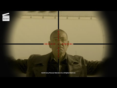 Breaking Bad Season 4 Episode 9: Gus stands his ground (HD CLIP)