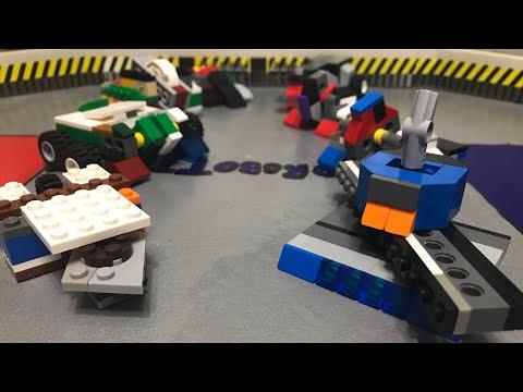 LEGO Battlebots Season 3 Qualifying Round part 1