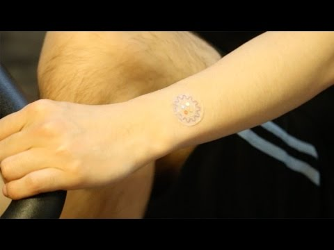 Soft, microfluidic lab on the skin for sweat analysis