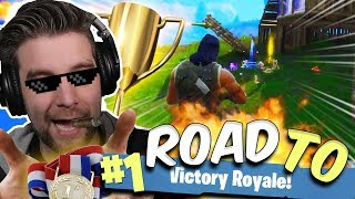 DUBBELE VICTORY ROYALE!! - ROAD TO #1 VICTORY ROYALE - Fortnite