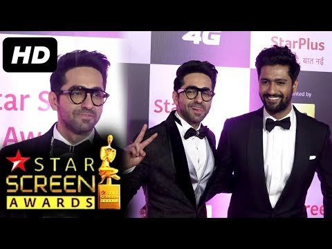 Ayushmann Khurrana At Star Screen Awards 2018 | Red Carpet