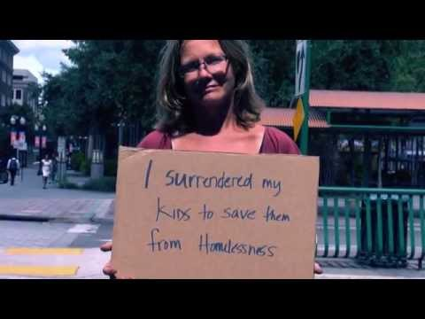 Cardboard Stories  nbsp Homeless in Orlando