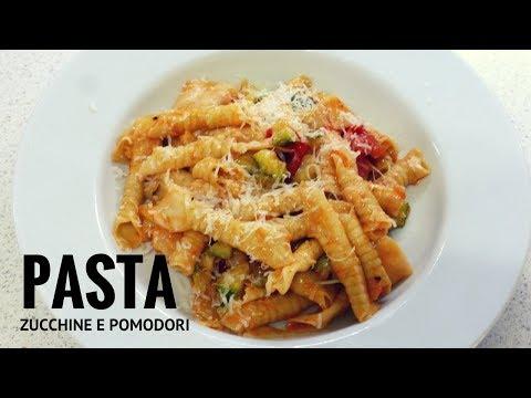 pasta con zucchine e pomodori - ricetta