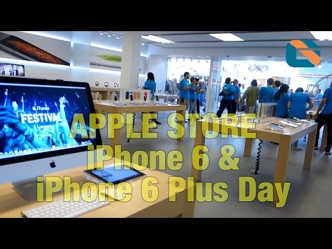 Apple store - Please Support Me on Patreon http://www.davidcryer.uk/ Apple Store iPhone 6 Plus Launch | Geek Vlog 290 iPhone 6 & iPhone 6 Plus Dual Unboxing - https://www.youtube.com/watch?v=Uy6aciI35iU...