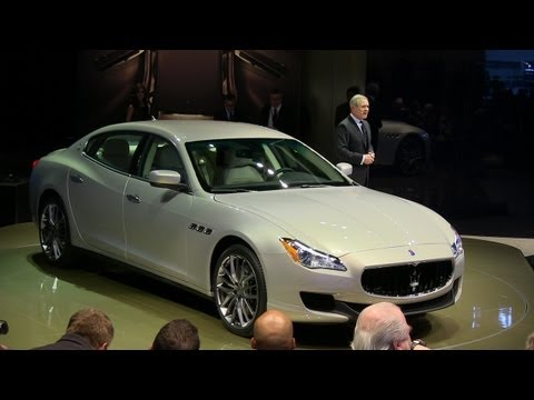 Corvette Stingray Watch on Watch The 2014 Maserati Quattroporte Debut At The Detroit Auto Show
