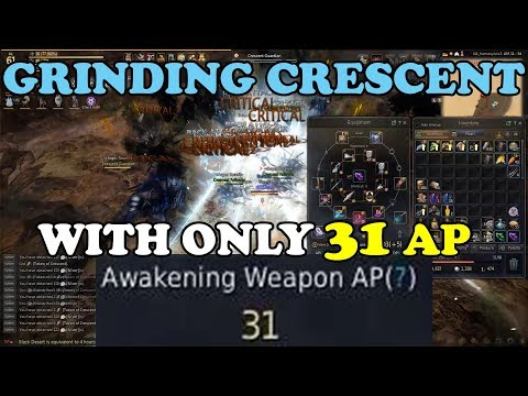 BDO - Grinding Crescent With ONLY 31 AP
