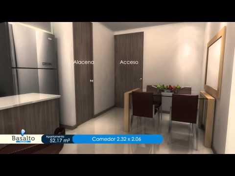 BASALTO video apartamento 52 17 M² (видео)