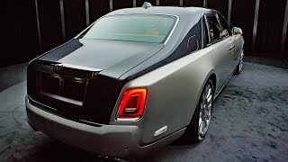 """2018 Rolls-Royce Phantom VIII First Look  It's all new, we swear!At a well-decorated warehouse just off Hollywood's Sunset Blvd., a gaggle of PR, design, operations, and executives from Rolls-Royce Motor Cars are stoking our excitement for the all-new, 2018 Rolls-Royce Phantom VIII. Along with the normal Rolls-Roycey words like """"heritage,"""" """"brand,"""" and """"bespoke,"""" was a repeated phrase. A phrase that shouldn't be necessary. A phrase eliciting a concept that should be obvious if true. The new car, it said, was """"not an evolution"""" on the current Phantom. That, friends, is exciting to hear.Don't get us wrong, we like the train-engine-bolted-to-a-horseless-carriage look, and the beast's scale and presence on the street. Trouble is, since the car first took to unsmoothing our air with its cathedral-facade front end in 2003, the looks have gotten a little, um, tired. Blame the mercilessness of time. Blame the success of the car, which means they're on every street corner in west Los Angeles. Blame the """"imitation-is-the-most-sincere-form-of-flattery"""" Chrysler 300. Blame the fact that this car's magnetism vaults it into the public eye more frequently than a Kardashian. Whatever the cause, fact is, the Phantom needs a reboot. A subtle evolution a la the last Bentley Continental won't do.The lights are out. We're led through a darkened antechamber into the full-dark of the warehouse. We can see the shape. It's big and has the classic squared off D-pillar. The front, too, has the required grille bigness. It is enviously long.Let's pause. Here at Autoblog, we're known for giving people advice. We take that responsibility seriously, because the results of our evaluations and expertise are often the reason someone has dropped thousands of dollars on a car they're going to live with for many years. We try to keep it on cars and to not to get too preachy on the life coaching.We're going to break that convention now. Here's a life pro tip: The more frequently that someone in a positio"""