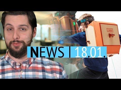 Papp-Bausatz Nintendo LABO angekündigt - Neues Alien-Spiel in Arbeit - News