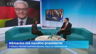 Frank-Walter Steinmeier byl zvolen německým prezidentem
