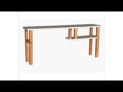 Video See the latest YouTube of Hutch For Buddy And Computer Desks