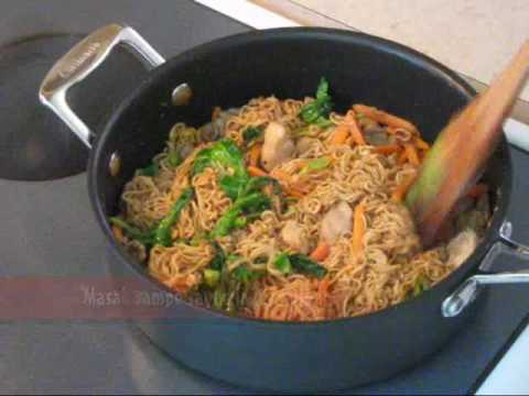 Resep Mie Goreng Ayam - Chicken Fried Noodle