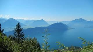 スイス発 リギ中部(1130m)、ヴェッギスからの風景【スイス情報.com】