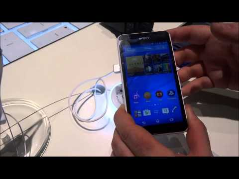 Sony Xperia E 4G, video anteprima