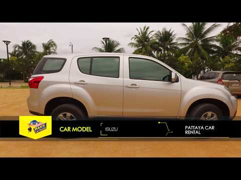 Rent a car Isuzu MUX (2016-2017) Video