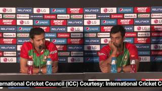 2015 WC BAN Vs SCO: Mortaza Happy With Team's Batting