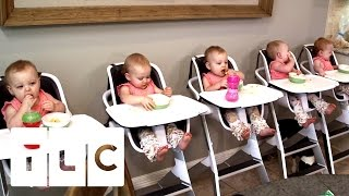 Feeding And Bathing 5 Babies | Outdaughtered | S2 Episode 1