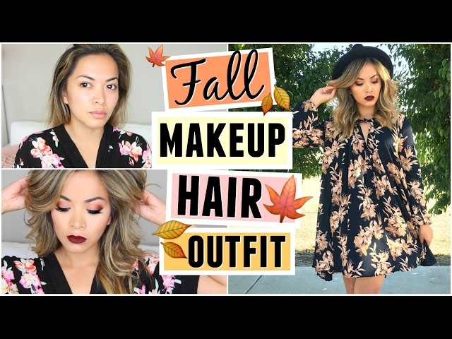 Cozy Fall Makeup Hair Outfit Get Ready With Me | AllMusicSite.com