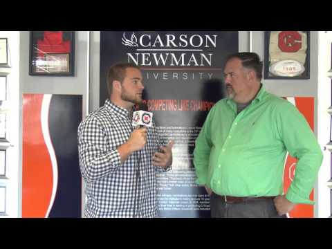 Carson-Newman Track and Field: David Needs Interview 3-17-16