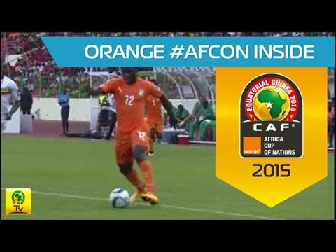 Cote - Wilfried Bony shows off skills with Côte d'Ivoire against Mali (1-1) Group D - Matchday 8 - 24/01/2015 - Estadio de Malabo, Malabo Orange Africa Cup of Nations, EQUATORIAL GUINEA 2015 Coupe...