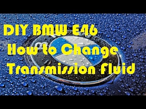 DIY Transmission Oil Change BMW E46 Automatic
