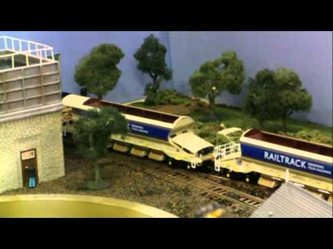 Bishop Auckland Model Rail show 21/1/2012 including new 'Bishop Trains' shop