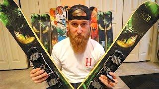 RVL8 Skiboards Review - My background & season prep!