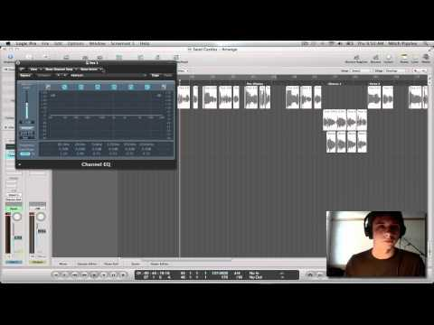 Logic Pro 9 Tutorial – Vocal Production (Beginning to End) #1