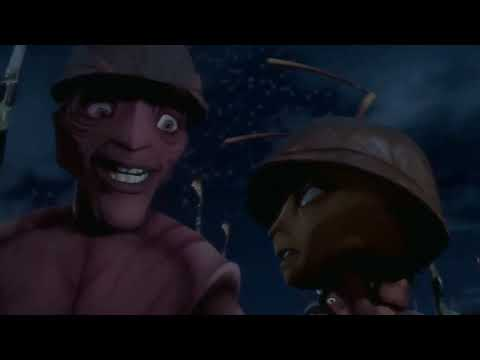 Antz 1998  Battle Scene