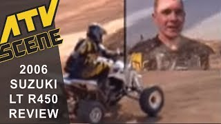 5. 2006 Suzuki LT R450 Quad Racer Ride Review