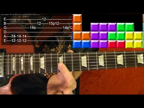 Tetris – Video Game Theme – Guitar Lesson