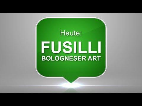 #20 Fusilli Bologneser Art – einfach, schnell & lecker zubereitet – Vegane Rezepte