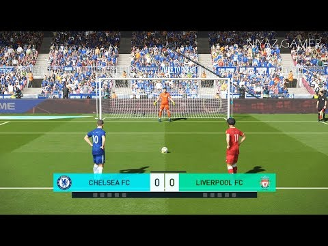 CHELSEA FC vs LIVERPOOL FC | Penalty Shootout | PES 2018 Gameplay PC