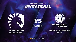 Team Liquid vs Invictus Gaming, Game 3, SL i-League Invitational S2 LAN-Final, Semi-Final