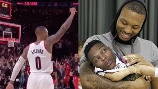 Damian Lillard Reacts To Paul George Calling INSANE Game Winning Shot BAD & Twitter RIPS Westbrook by Obsev Sports