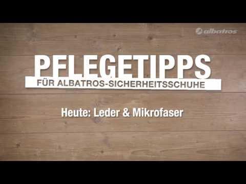 ALBATROS Pflegetipps für Sicherheitsschuhe aus Leder & Mikrofaser