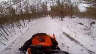 9. arctic cat f7 sno pro helmet cam (gopro)