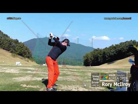 [1080P Slow] Rory McIlroy 2013 DRIVER golf swing (2) on the Driving Range