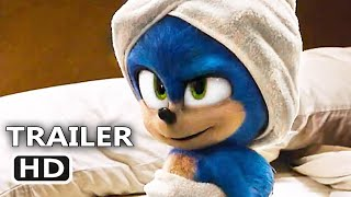 SONIC THE HEDGEHOG Bath Towel Trailer (NEW 2020) Family Movie by Inspiring Cinema