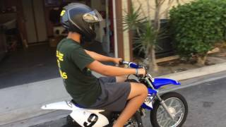 9. Jason on Yamaha TTR110 one lesson is all it takes
