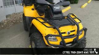 10. 2009 Can-Am Outlander MAX 650 EFI XT  - Banner Recreation...