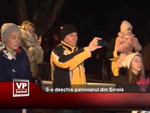 S-a deschis patinoarul din Sinaia