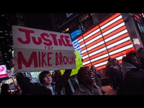 Biểu tình phản đối vụ Ferguson diễn ra khắp nước Mỹ