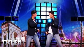 Video French Twins - France's Got Talent 2016 - Week 2 MP3, 3GP, MP4, WEBM, AVI, FLV Februari 2018