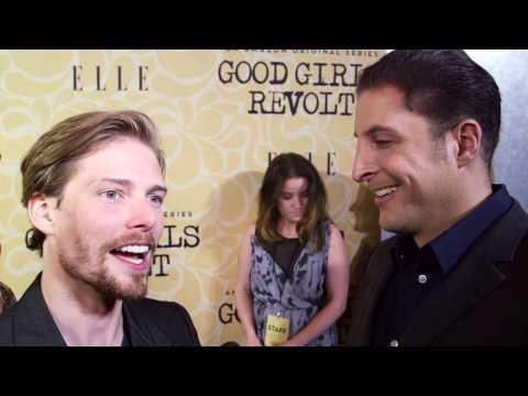 "Hunter Parrish at the ""Good Girls Revolt"" Premiere Behind The Velvet Rope with Arthur Kade"
