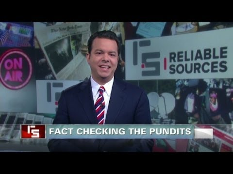 fact checking - John Avlon on PunditFact, the PolitiFact offshoot that aims to fact-check journalists and media commentators. More from CNN at http://www.cnn.com/