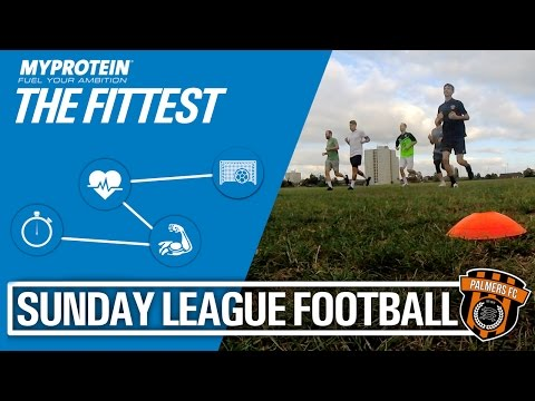 Sunday League Football - Bleep Test With My Protein