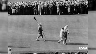1927 U.S. Open Vignette