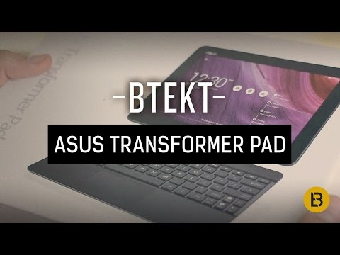 Asus Transformer Pad TF-103 unboxing video and first impressions