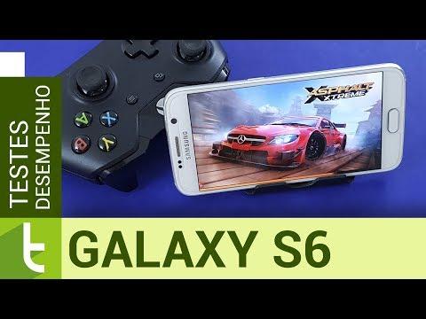 Desempenho do Galaxy S6 com Nougat  Teste de velocidade oficial do TudoCelular